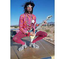 Rock Star Pansy Photographic Print