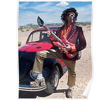 Rock Star Man Poster