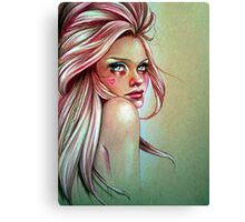 Candy Cane Canvas Print