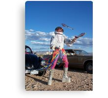 Astro Juggler Canvas Print