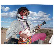 Astro Guitar Hero Poster
