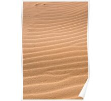 Sand texture ~ Ribs Poster