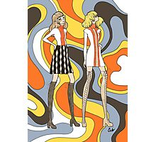 Groovy Girls Photographic Print