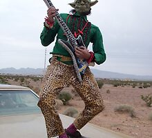 Guitar Hero Yoda by jollykangaroo