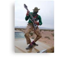 Guitar Hero Yoda Canvas Print