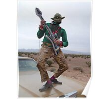 Guitar Hero Yoda Poster