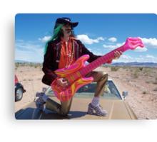 Guitar Hero Star Canvas Print