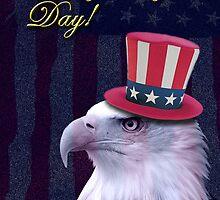 Flag Day Eagle by jkartlife