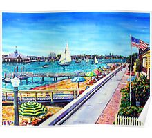 Balboa Island Newport Beach Ca. Poster