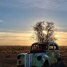 Abandoned ( portrait ) by Mark Cooper