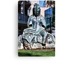 Zen City Canvas Print