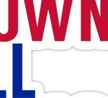 Pittsburgh Steelers - Big Ben Roethlisberger, Antonio Brown, and Le'veon Bell Sticker
