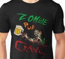 Zombie Pub Crawl Unisex T-Shirt