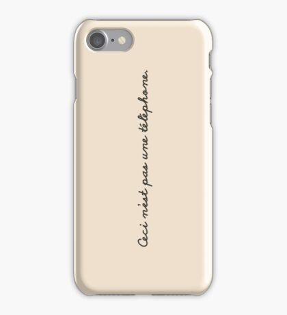 This is not a phone. iPhone Case/Skin
