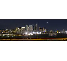 Austin Skyline Sunrise from the Zilker Park Clubhouse 2 Photographic Print