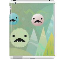 Bad Snowflakes by Aglaia Mortcheva iPad Case/Skin