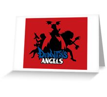 Demitri's Angels Greeting Card