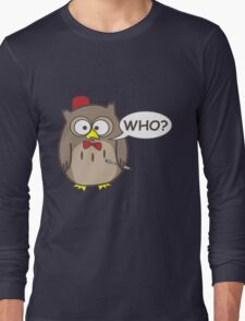 Dr. Hoot Long Sleeve T-Shirt