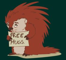 Porcupines just wanna hug by monkeyminion