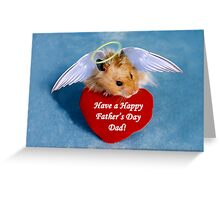 Father's Day Hamster Greeting Card