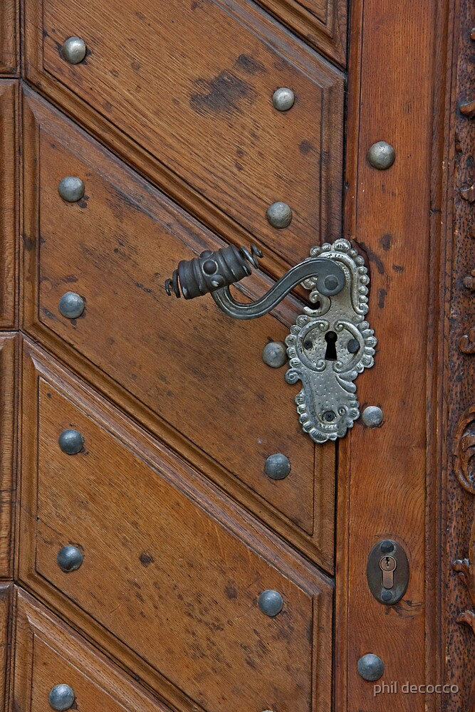 Double Lock Door by phil decocco