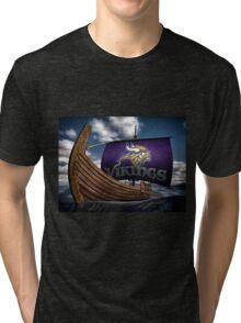 Viking ship Tri-blend T-Shirt