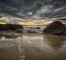 Taroona Beach Sunrise, Tasmania #10 by Chris Cobern