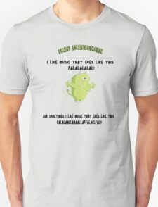 FRED FREDBURGER the grim adventures of billy and mandy cartoon T-Shirt