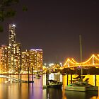 Brisbane Night by ashercobb