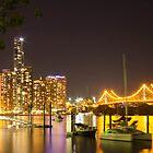 Brisbane Night by ashercobb