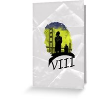 The Eighth Doctor Greeting Card