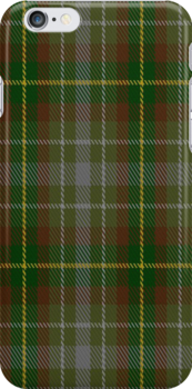 00174 Devon National Tartan Fabric Print Iphone Case by Detnecs2013