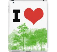 I Heart Forest / Nature / Trees iPad Case/Skin
