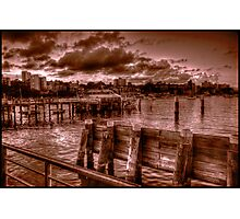 Troubled dawn Photographic Print
