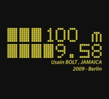 Usain BOLT - 100m - 2009 by NicoWriter