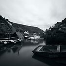 Boats at Staithes, North Yorkshire by PaulBradley