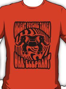 Ancient physic tandem war elephant T-Shirt