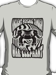 Ancient physic tandem war elephant T-Shirt