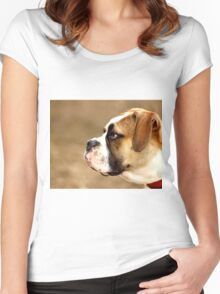 BOXER-2 Women's Fitted Scoop T-Shirt