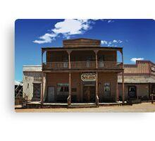 ApacheLand Saloon & Restaurant #10575 Canvas Print