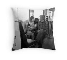 Metro romance Throw Pillow