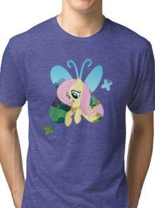 Fluttershy Butterfly Tri-blend T-Shirt