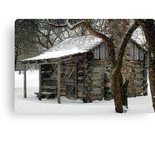 Winter Retreat © Canvas Print