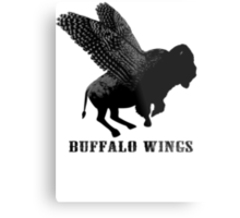 Buffalo Wings Flying Buffalo Metal Print