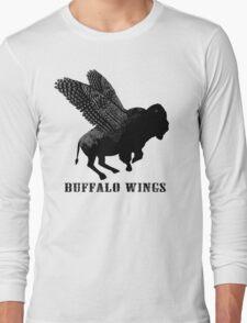 Buffalo Wings Flying Buffalo Long Sleeve T-Shirt
