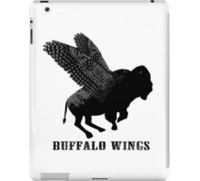 Buffalo Wings Flying Buffalo iPad Case/Skin