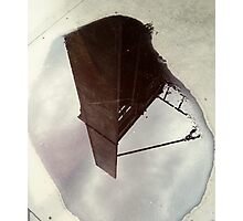 A world in a puddle  Photographic Print