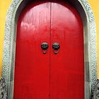 The Big Red Door © by Ethna Gillespie