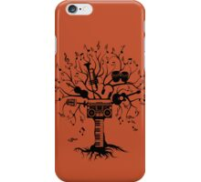 Melody Tree - Dark Silhouette iPhone Case/Skin