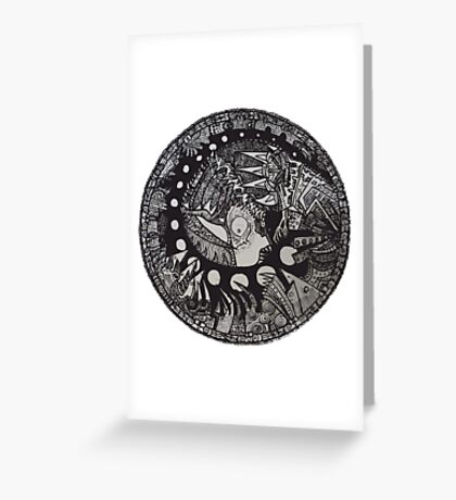 The Chrysalis King  Greeting Card